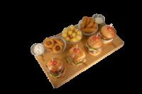Platou minihamburger